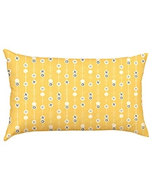 Stybuzz Pattern Baby Pillow Cover - Yellow