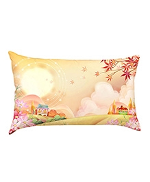 Stybuzz Beautiful Place Baby Pillow Cover - Cream