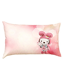 Stybuzz Bunny Baby Pillow Cover - Pink