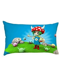 Stybuzz Video Game Child Baby Pillow Cover - Multicolour