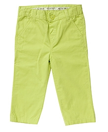 WowMom Full Length Pant - Lime Green