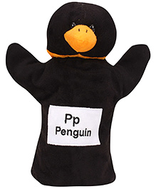 Natkhat Penguin Puppet - Black