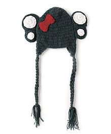 The Original Knit Little  Fat Elephant Cap - Gray