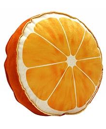 Stybuzz Orange Plush Fruit Cushion - Orange