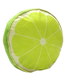 Stybuzz Lime Plush Fruit Cushion - Green
