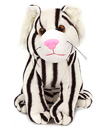 Natkhat Animal Soft Toy White & Black - 20 Cm