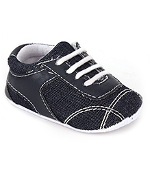 Cute Walk Shoes Style Booties Solid Colour - Black