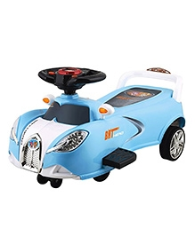 Polly's Pet Twister Ride On Blue And Black - 66021