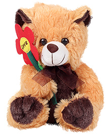 Natkhat Caption Teddy Bear Brown - 22 cm
