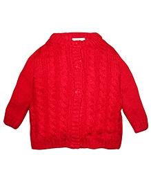 FS Mini Klub Full Sleeves Sweater - Red