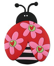 Stephen Joseph Animagnet Ladybug - Red And Multicolor