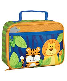 Stephen Joseph Insulated Lunch Box Case Zoo - Multicolor