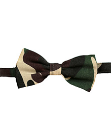 Baby's Locker Military Inspired Bow-Tie - Brown