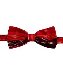 Baby's Locker Premium Bow-Tie - Red