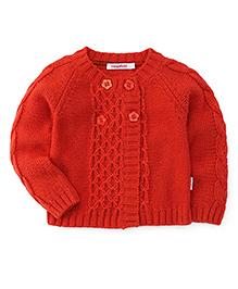 Wingsfield Full Sleeves Sweater - Orange