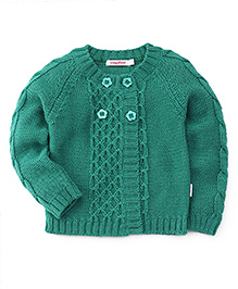 Wingsfield Full Sleeves Sweater - Green
