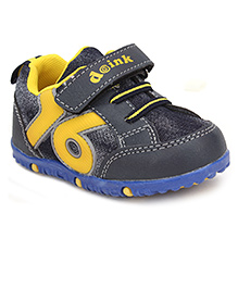Doink Casual Shoes Velcro Closure 76 Print - Grey