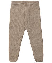 Babyhug Woolen Leggings - Beige