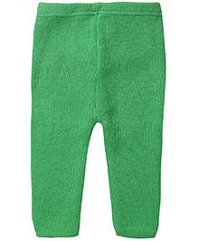 Babyhug Woolen Leggings - Green