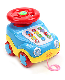 Mitashi SkyKidz Learning Car Musical Toy - Sky Blue
