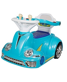 Toyhouse Bumper Car 2.4G Battery Operated Ride On - Blue