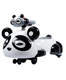 Toyhouse Panda Swing Car - White And Black