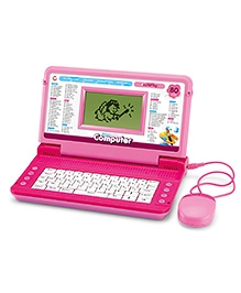 Toyhouse Educational Talking Laptop With 80 Learning Activities - Assorted