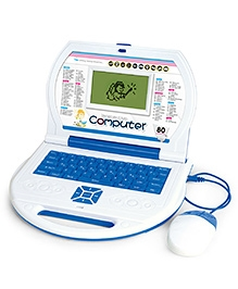Toyhouse Educational Laptop With 80 Learning Activities - Blue