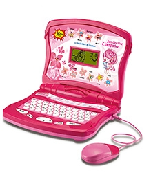 Toyhouse Educational Laptop With 80 Learning Activities - Pink