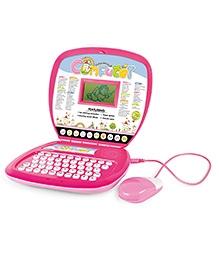 Toyhouse Educational Talking Laptop With - Pink