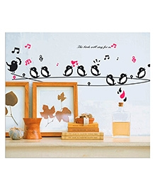 Studio Briana Twittering Birds Music On A Cable Wall Art Home Decor