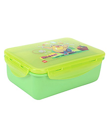 Cello Homeware Rectangular Lunch Box Bheem Print - Green