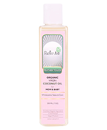 Rustic Art Organic Virgin Coconut Oil For Mom And Baby - 200 Ml