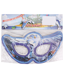 B Vishal Aquatic Birthday Theme Eye Mask Pack Of 10 - Blue