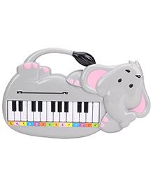 Elephant Shape Musical Piano - Grey