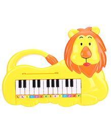 Lion Shape Musical Piano - Yellow