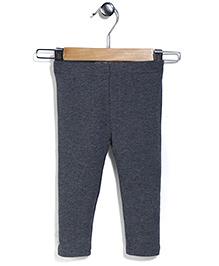 Fox Baby Full Length Pajama - Grey
