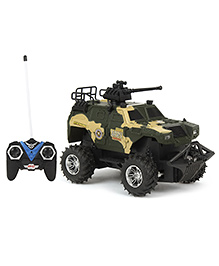 Remote Controlled Tank - Green