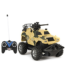 Remote Controlled Tank - Yellow