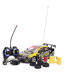 Remote Controlled Car - Black Yellow