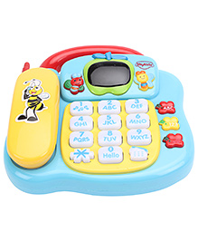 Mitashi Skykidz Learning Phone - Yellow Blue