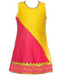 Twisha Ethnic Kurti - Yellow