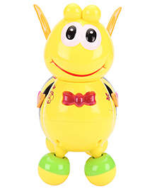 Honey Bee Pull Along Musical Toy - Yellow