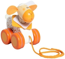 Sevi - Wooden Mini Pull Along Sheep