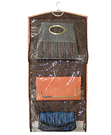 Funkrafts 8 In 1 Purse Handbag Organizer - Brown