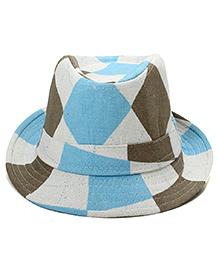 Little Cuddle Scottish Fedora Hat - Blue