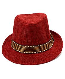 Little Cuddle Fedora Hat - Red