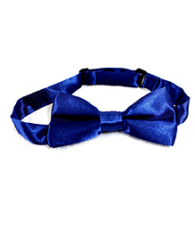 Glossy Bow Tie - Blue