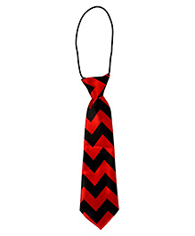 Stripped Tie - Blue & Red