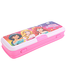 Disney Princess Pencil Box With White Board - Pink